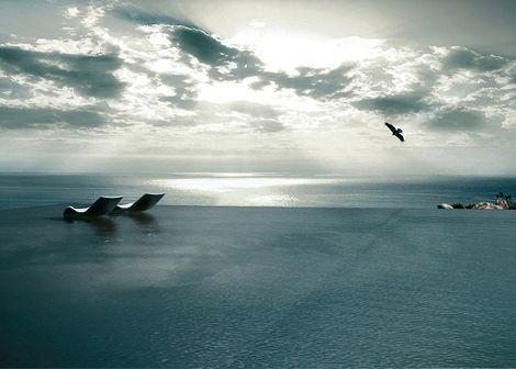 Η πιο εντυπωσιακή πισίνα του κόσμου χτίζεται στην Τήνο (photo)