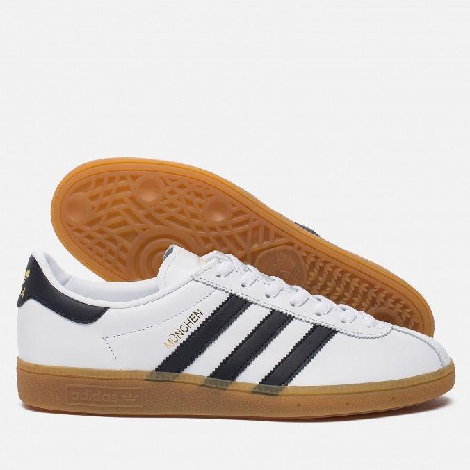 adidas Originals Munchen Colour: White/Core Black/Gum. Article: BB2778.