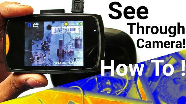 Make Basic Infrared Thermal Imaging Camera For Cheap ! Convert Any Camera Into Infrared Thermal Camera