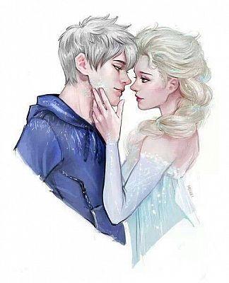 Elsa e Jack frost -Love frozen