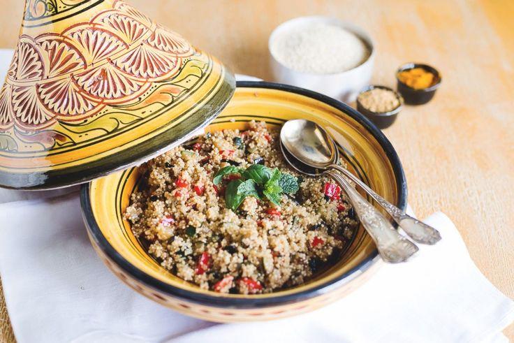 Ricetta Cous cous di quinoa   Agrodolce