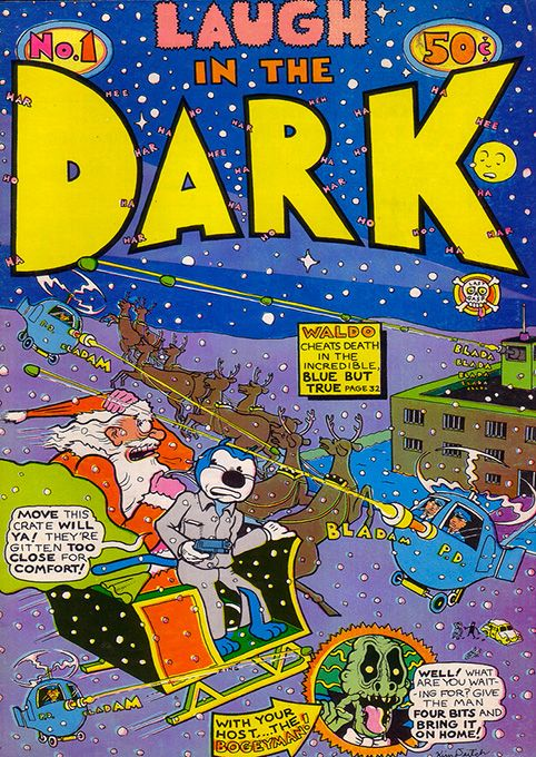 Laugh in the Dark #1 by Kim #Deitch #underground #comics