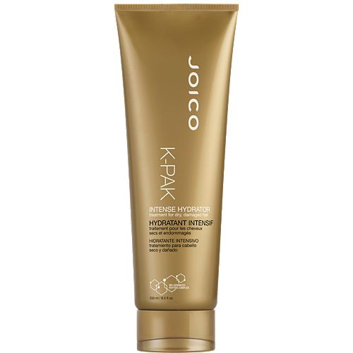Joico K-PAK Intense Hydrator - Intense moisturizing hair mask with botanicals, oils, & fatty acids. Use everyday if hair is extremely damaged. Use after clarifying or chelating hair. Great for use after Joico K Pak Reconstructor