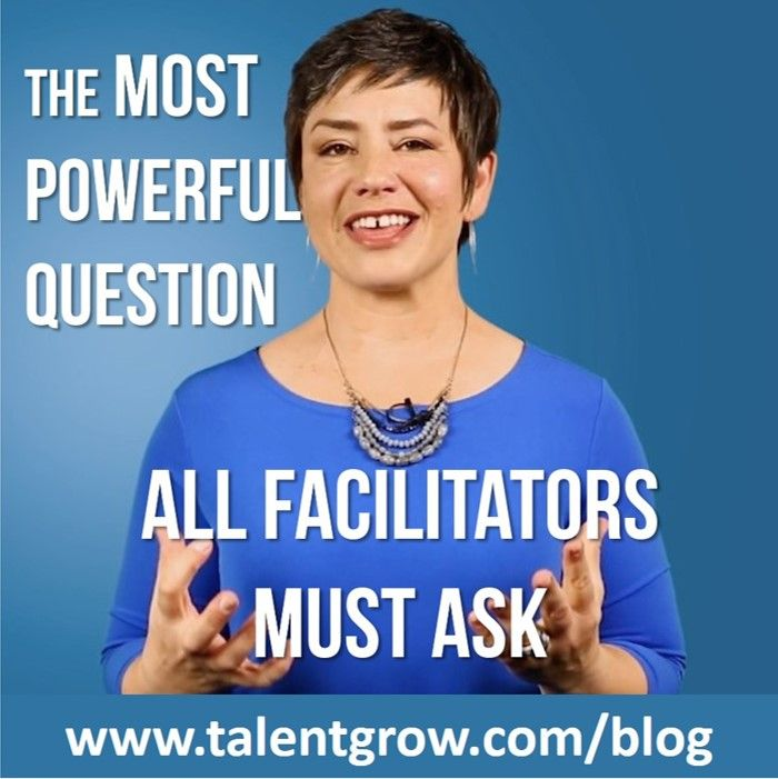 The most powerful question all facilitators must ask | Vlog
