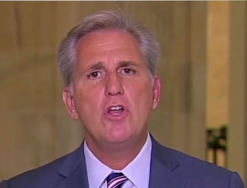 Rep. Kevin McCarthy (R-CA) was trying to save his own hide with a statement about the Benghazi committee today, but what he admitted was that the Select Committee is based on a lie.