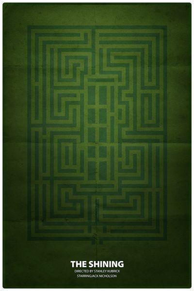 Jean-Joseph Renucci - The Maze - Kubrick et le Web - La Cinémathèque française Stanley Kubrick The Shining Art #shining #kubrick #stanley #poster #cinema