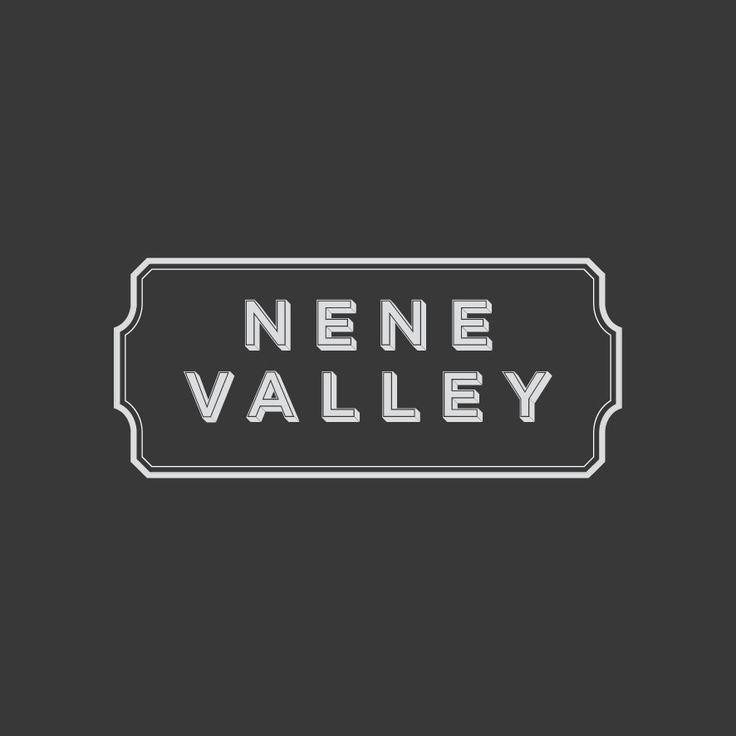 Logo Design. Nene Valley. Designed by White is Black.