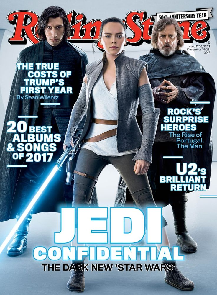 'The Last Jedi' director and cast talk about their dark new 'Star Wars,' a disaffected Skywalker and a death in the family – our complete cover story.