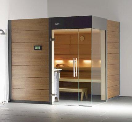 Modern sauna style