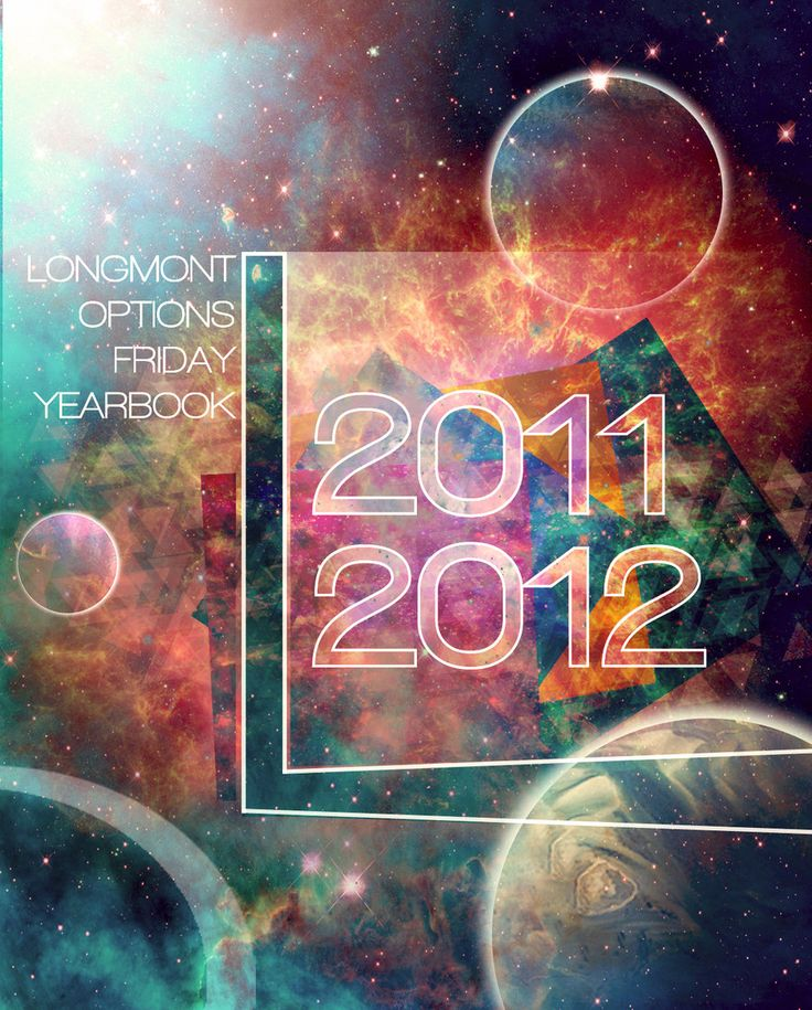 Image result for space theme yearbook