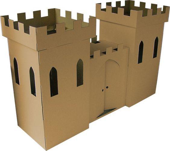 Image result for cardboard box fort