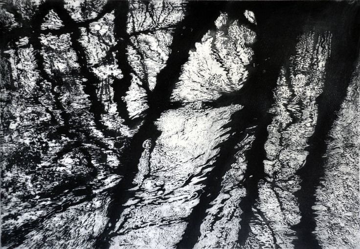 Large etching of ripples Mill River Ripples black and white by tricianewell on Etsy https://www.etsy.com/uk/listing/524199423/large-etching-of-ripples-mill-river