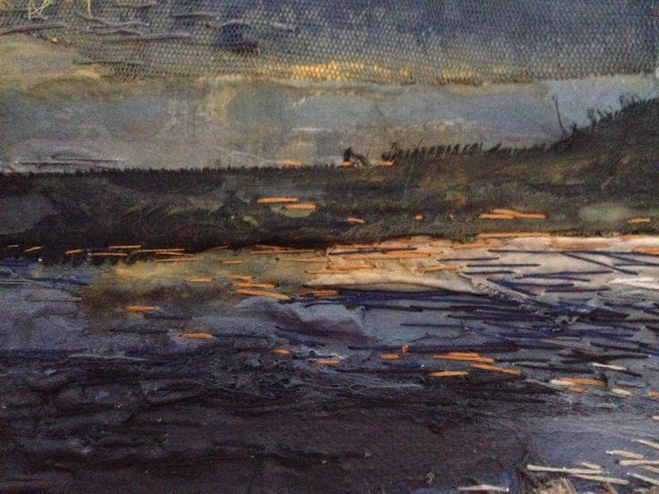 Winter sunset - Laura Edgar