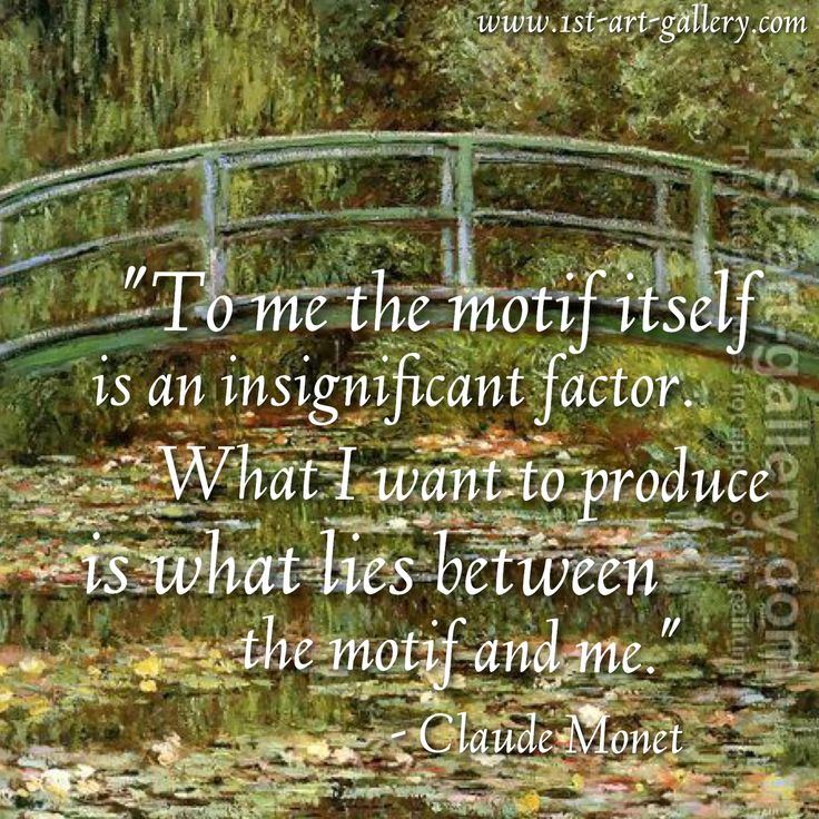 Monet Painting Quotes