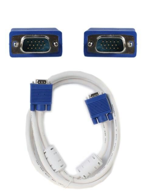 Kabel VGA 1.8M High Quality - High Quality VGA Cable - Jack Biru - Panjang 1.8m Harga rp45.000 Info detail di : www.tokomipo.com