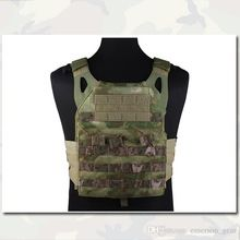 JPC Vest Airsoft Combat Jumper Carrier Vests Emerson Simplified Version Airsoft Combat Gear Olive Drab