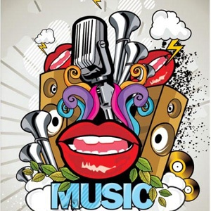 musicPicture-Black Posters, Free Vector, Music Vector, Estes Vector, Music Posters, De Vector, 02 Vector, Vector Trends, Deze Posters