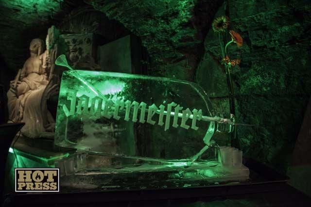 Ice drink cooler - Jägermeister Promotional Event