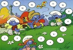 Beloningskaart / Smurf Behavior Chart