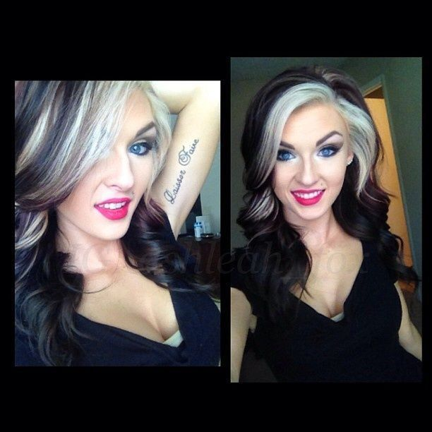 black and white hair - Google Search