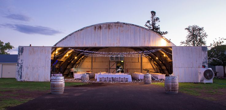 Reception Venue = Air Hanger - Salt Studios| Toowoomba Wedding and Commercial Photography