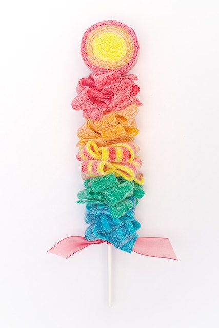 Rainbow Sweet Skewer Candy Kabob by Sweets Indeed