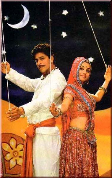 Shahrukh Khan and Rani Mukherji - Paheli (2005) Source: The India Store Online