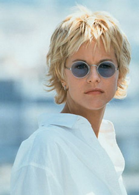 Meg Ryan Short Choppy Hairstyles | Meg Ryan quot;French Kissquot; 1995. In den USA der meist kopierte ...