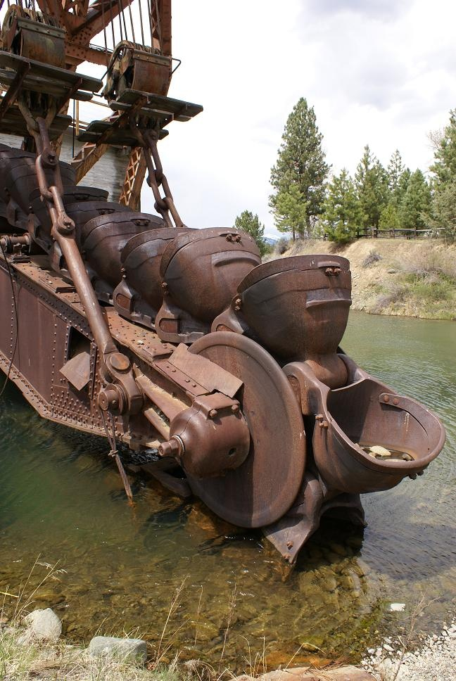 sumptner gold dredge - Bing Images - This is typical of the dredge buckets on the gold dredges that were used all over the Dawson City area.