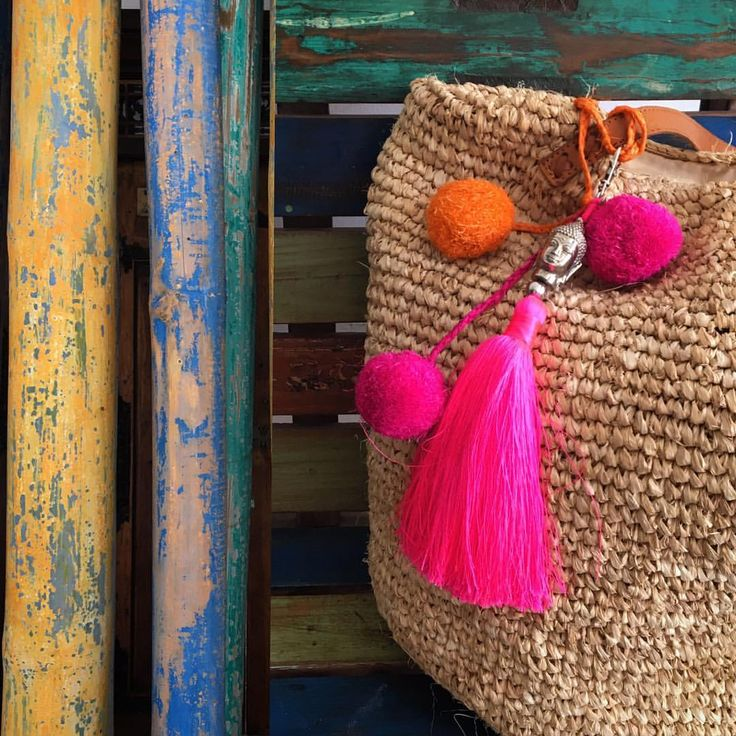 Spice up your summer bag with some bohemian accessories 💕☀️ - Buddha tassels in various vibrant colours by #lindahering . . . #madewithloveinbaliღ #bali #accessories #buddha #coloursofbali #handmade #tassel #musthave #style #design #boutiques #instadaily #shoponline #fashion #fashionista #buddhatassel #fluorescent #fluorescentpink #jewellery #instajewellery #instajewelry #handmadejewelry #jewelrygram #jewellerygram #handmadejewellery