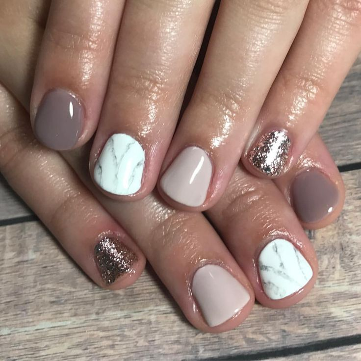 By now, you know I love nails & nail art! How do you feel about this mix or pattern, colors and sparkle? Are you feeling inspired or not so much? #nailart #trend #womensbeauty