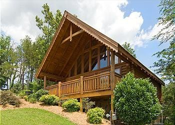 Gentil Sunset Thrill   1 Bedroom Gatlinburg Cabin Rental