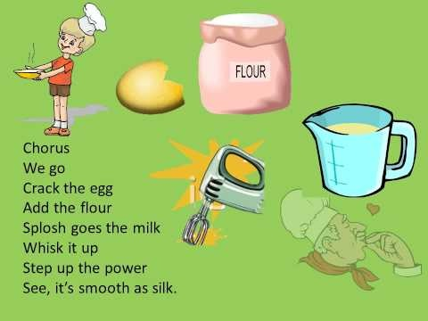 The pancake song  for children