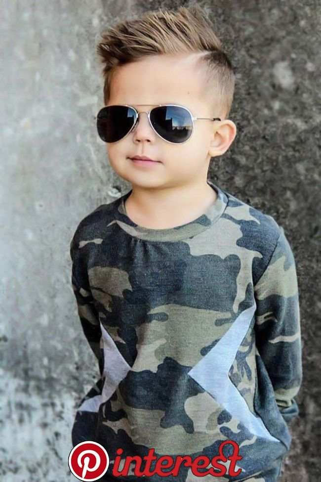 60 Trendy Boy Haircuts For Your Little Man 2020 Goruntuler Ile