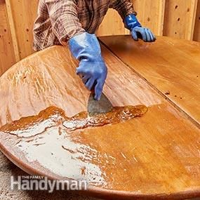 Make old furniture look new again in a weekend!