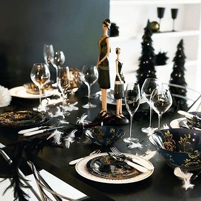 sylwester stół dekoracje - Szukaj w Google: