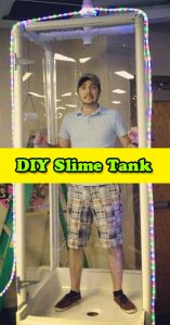 DIY SLIME TANK!!!   It's time to get messy!!!   Check out this awesome design for a DIY slime machine that will be the huge hit  of your children's ministry, youth group, or VBS.   Several other DIY project just as awesome are included.