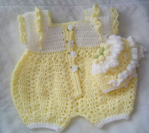 441 best images about Crochet~Baby Dresses on Pinterest ...
