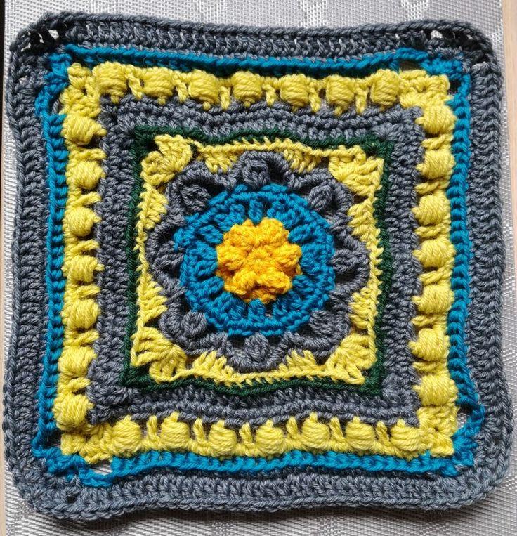 Part 3: MAAILMAN SYNTY - BIRTH OF THE WORLD Designed by Soile Olmari  Crocheted by Päivi M