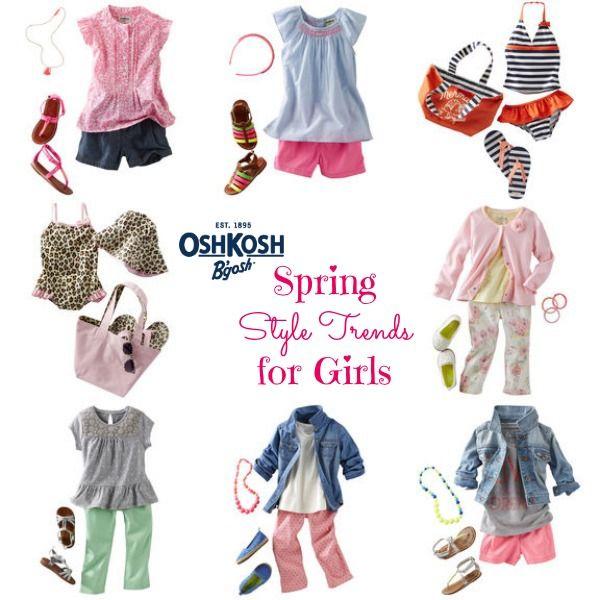 The NapTime Reviewer: OshKosh B'Gosh Coupon + Kids Spring Fashion Trends