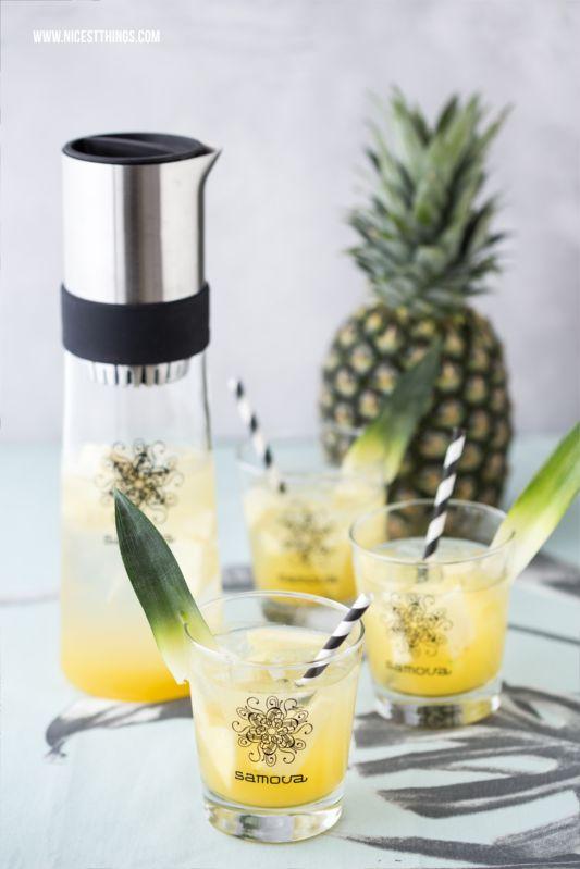 Eistee Rezept im Tea-Jay Pina Colada mit Ananas