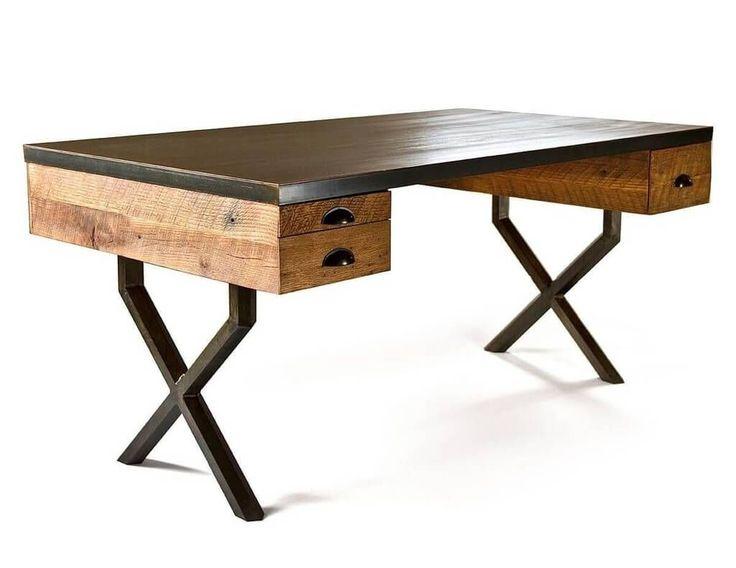 Best 25+ Reclaimed Wood Desk ideas on Pinterest | Rustic desk, Office desks  and L desk - Best 25+ Reclaimed Wood Desk Ideas On Pinterest Rustic Desk