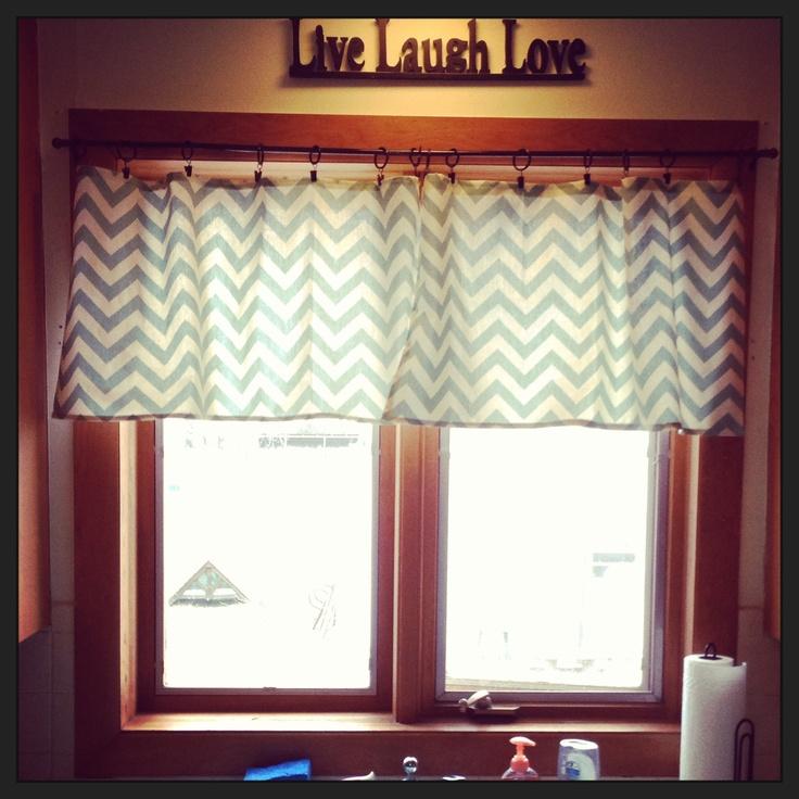 Simple Home Decor Kitchen: Easy Diy Kitchen Curtains.