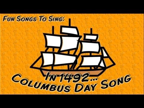 ▶ In 1492... | Columbus Day Song For Children - YouTube