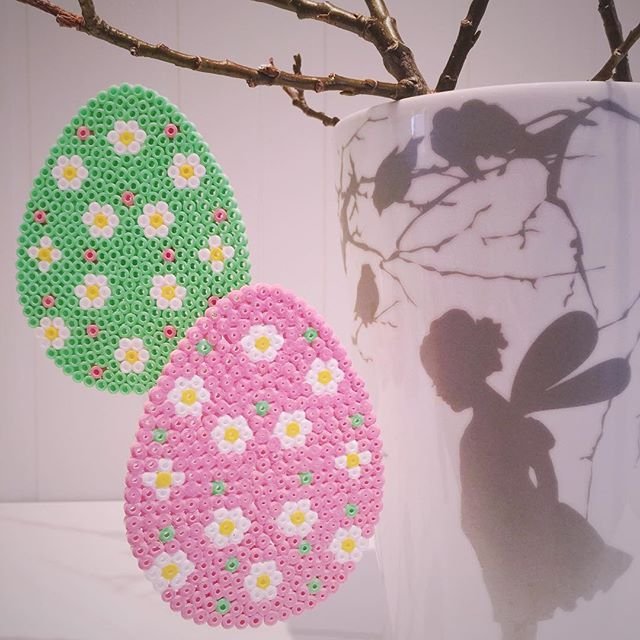 Easter eggs hama beads by mamma_diy