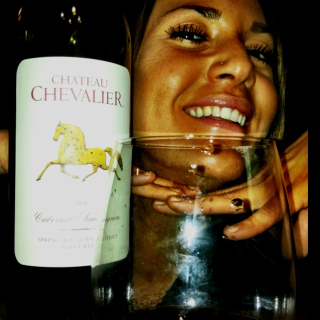 Chateau Chevalier Cabernet Sauvignon 2006 from Spring Mountain District Napa Valley..An Insider's best Napa Cab under $20!! Industry Only!!