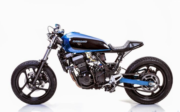 "kawasaki 250 cafe racer | Kawasaki Ninja 250 2007 ""Mayonaka"" (Midnight in Japanese) from ..."