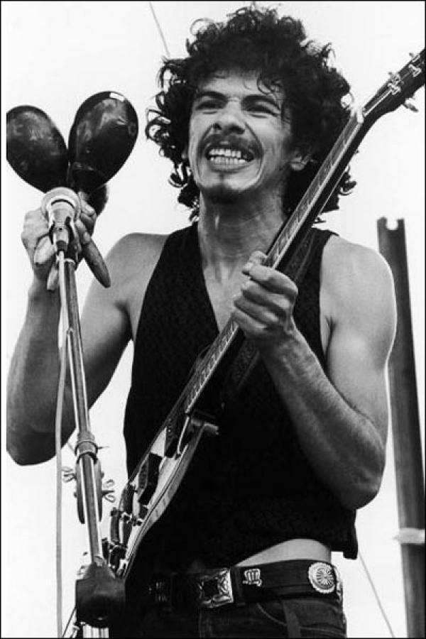 Carlos Santana 1969