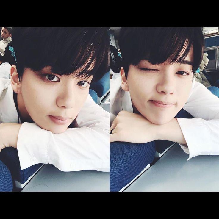 """""""#인기가요 #끝 #BAP #광주로출발"""" yjayo (Youngjae on Instagram)"""