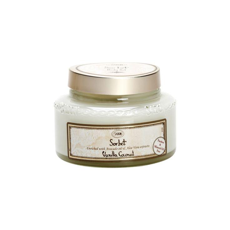 Birchbox : Sabon - Gel Sorbet - Vanille Coco